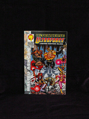 Malibu Comics - Ultraforce Malibu Ashcan