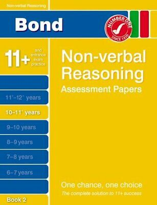 Bond Non-verbal Reasoning Assessment Papers 10-11+ Years Book 2, Morgan, Nic The