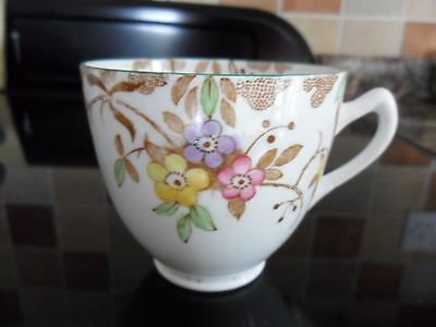 Vintage Collectable Sutherland China Cup Floral Design 1533