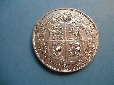 George V -1923 - Half Crown