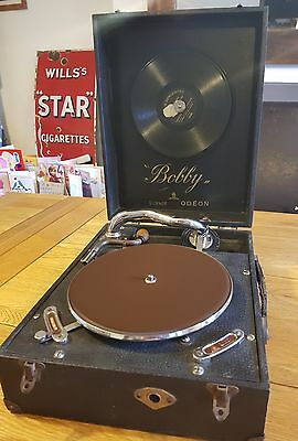 rare vintage Bobby Odeon gramophone collectable