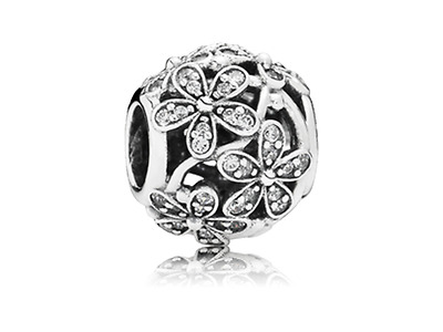 New Genuine 925 Silver PANDORA Dazzling Daisy Meadow Charm