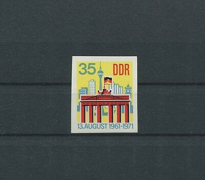 DDR PH 1692 BRANDENBURGER TOR PHASENDRUCK BERLIN WALL PROOF IMPERF RARE!! c4331