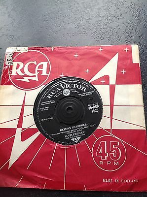 "Elvis Presley - Return To Sender/Where Do You Come From - 7"" Single - 1962."
