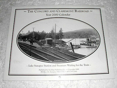 THE CONCORD AND CLAREMONT RAILROAD 2000 calendar