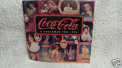 Coca-Cola Calendar 1995 Nostalgia 11x11 Vintage Advertising Pinup Girl Coke