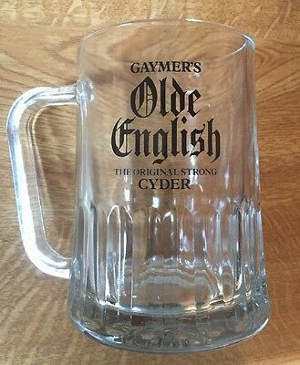 Vintage Gaymer's Old English Cyder  Pint Tankards - Home Bar - Pub