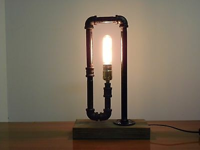 The Inside Steampunk Style Table Lamp