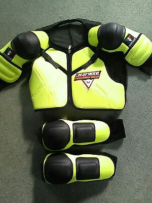 Dainese mens Mtb/ Motocross mesh protection jacket and elbow pads.size large