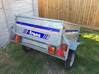 Franc 4x3 Galvanised Tipping Trailer