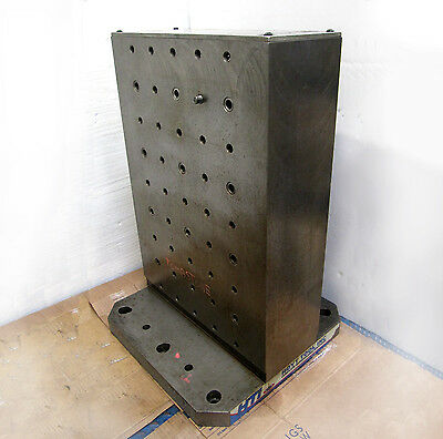 "16"" x 22½"" STEEL TOMBSTONE - CNC WORKHOLDING - VERTICAL SUBPLATE - by HOYT Tool"