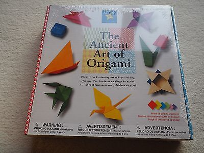 The Ancient Art of Origami boxed origami craft set, instructions & all paper