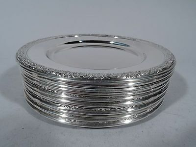 International Prelude Plates - H576 - Bread & Butter - American Sterling Silver