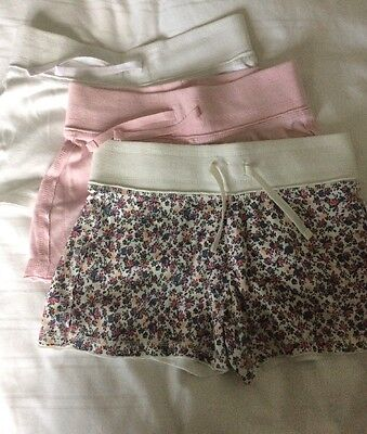 Girls 3 pairs Shorts Age 10 By Next