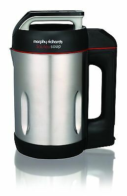 Morphy Richards Saute and Soup Maker Brushed Stainless-Steel