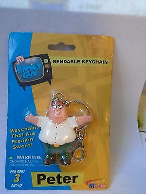 Family Guy Peter Bendable Keychain