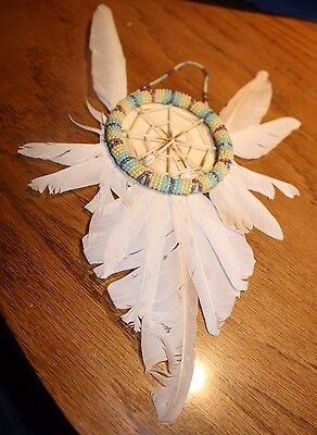 Native American Vintage Dream Catcher Signed