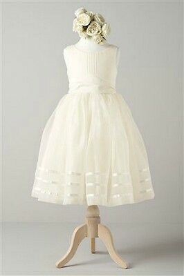 Brand New & Tagged Next Ivory Flower Girl Dress - Age 8 years