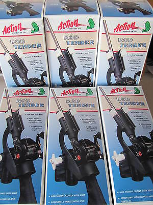QTY 6 Brand New in Box Action Products Rod Tender, Fishing, aluminum boats