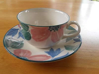 """3 x BHS """"MILANO"""" Cups & Saucers"""