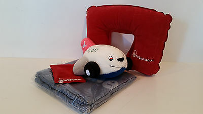 Aircraft Comfort Kit | travel & relax kit | BELAIR | AIRBERLIN | Passagierdecke