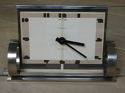 vintage French art deco clock