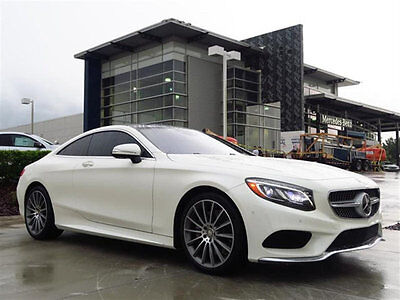2016 Mercedes-Benz S-Class 2dr Coupe S 550 4MATIC 2016 S550 COUPE,HUD,DISTRONIC,BRAKE ASSIT PLUS,CROSS TRAFFIC,ALL THE OPTIONS