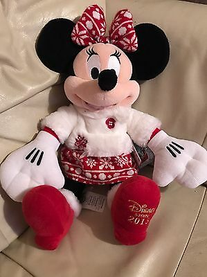 Minnie Mouse Disney Store 2015 Plush With Tag