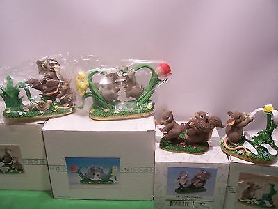 4 Charming Tails Catapult,bunny Buddies,run From Love,you Love Me/love Me Not