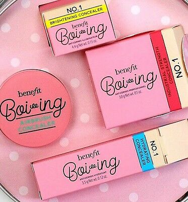 Benefit Boi-ing Airbrush Concealer Gift Set Tin Shade 1
