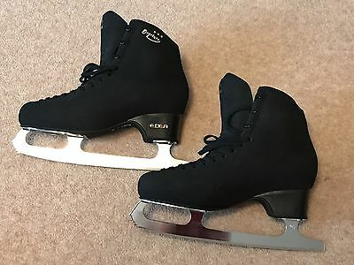 Edea Overture Black Figure Skates New Without Box UK9/EU43