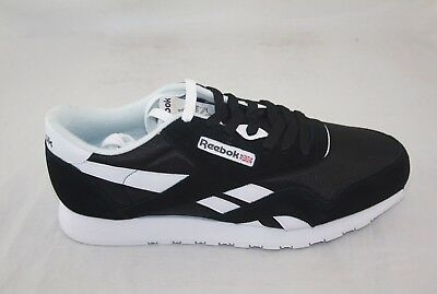 REEBOK MEN'S Classic Nylon 6604 Black White EUR 40,79