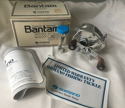 NEW IN BOX SHIMANO BANTAM 100 Bait Casting Reel,Manual