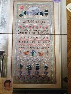 Winter Sampler Cross Stitch Chart