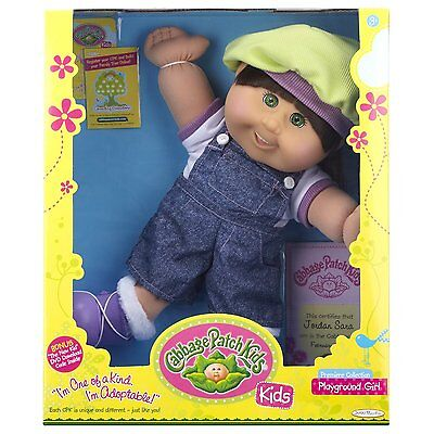 NEW Cabbage Patch Kids Brunette Playground GIRL Doll ***Brand New***
