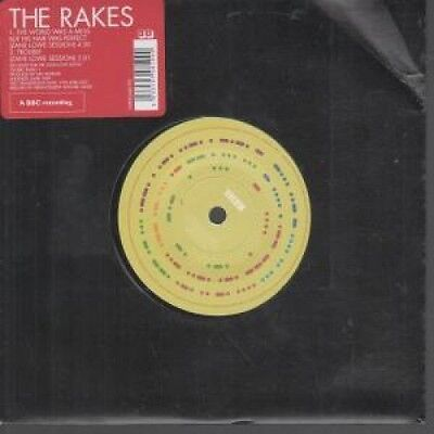 """RAKES (INDIE GROUP) World Was A Mess But His Hair Was Perfect 7"""" VINYL European"""