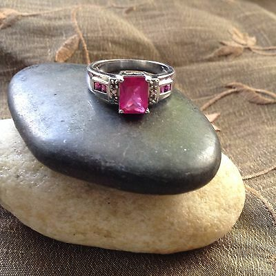 HAUNTED WICCA .Genuine Sterling Silver Vintage Ring  ~ Size 7 1/2