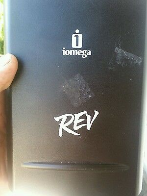 IOMEGA REV DRIVE 31035404 with 35gb Disc. Very Good condition UNTESTED