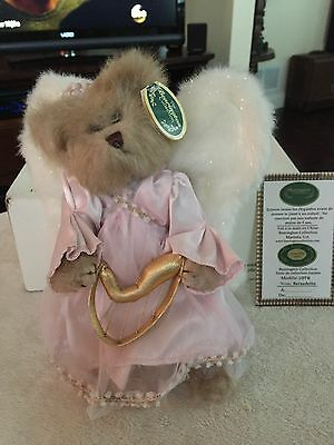 The Bearington Collection: Bernedette, Angel Bear, NEW