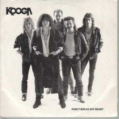 "KOOGA Don't Break My Heart 7"" VINYL UK Private B/W Lay Down Your Love (Ko001)"