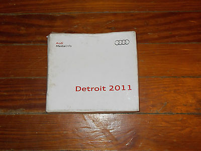 2011 Audi A8 L Security Q5 Rs 3 Sportback Press Kit W