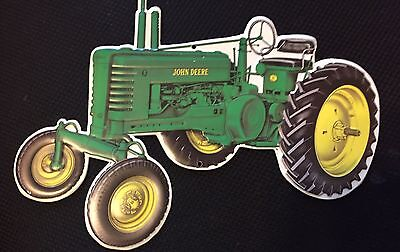 John Deere Tractor Tin Sign