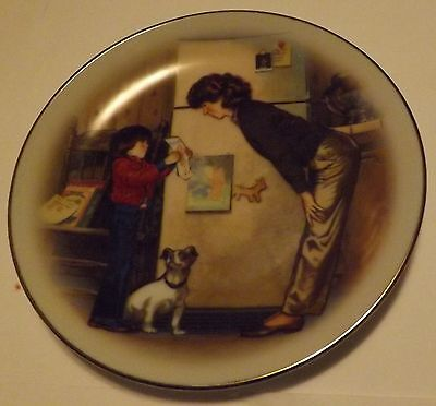 Avon Mothers Day Plate 1985 Special Memories