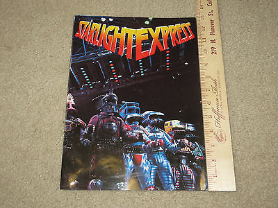 Starlight Express Program Apollo Victoria Theatre