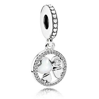 New Genuine 925 Sterling Silver PANDORA Hearts of Love Charm Pendant