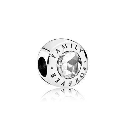 New Genuine 925 Sterling Silver PANDORA Family Forever Charm