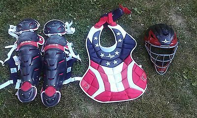 All Star System 7 Professional Adult USA Catcher's Set
