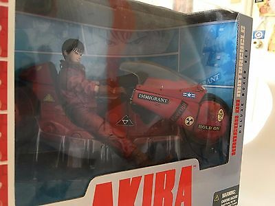 McFarlane Akira Kaneda On Motorcycle Deluxe Box Set 2001 Japan Animation Series