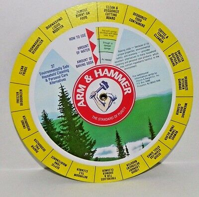 Arm & Hammer Advertising Uses Circle Turn Card 37 Uses Home and Personal  Mailer
