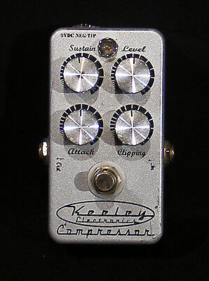 Keeley Compressor 4-Knob Guitar Effects Pedal
